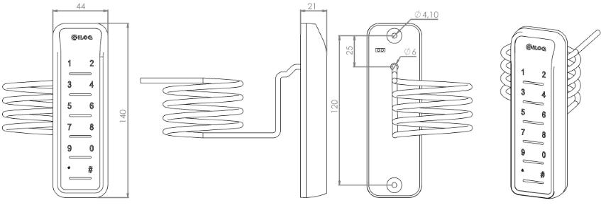 RFID-lukija N104.1