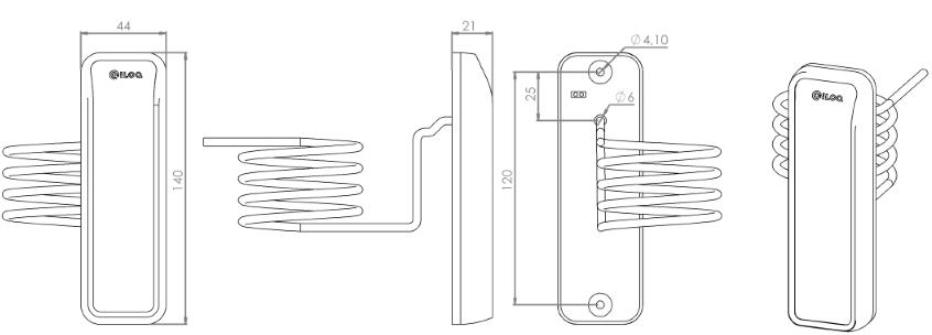RFID-lukija N104.2